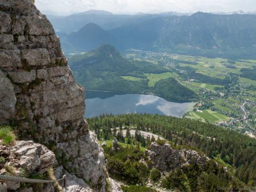 Eröffnung des Klettersteigs
